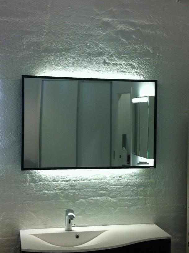 spejle med lys
